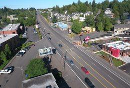 Barbur Boulevard in Southwest Portland