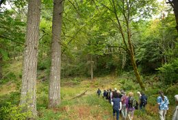 photo of tour at Chehalem Ridge led by Centro Cultural