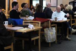 Community leaders at Metro's February housing stakeholder meeting