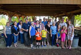 Group photo at the 65th annual Mason Hill Community Picnic