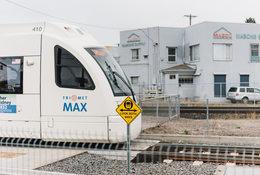 a TriMet MAX train