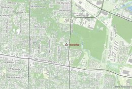 Woodco facility location map